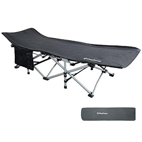 Kingcamp Camping Cot, Folding Camping Bed With Aluminum